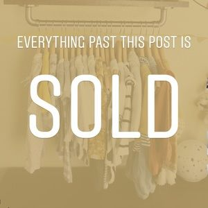 Other - Everything past this post is sold